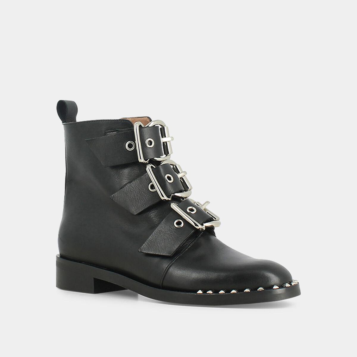 JonakDIRCE - Cowboy/Biker boots - noir pKVgKL